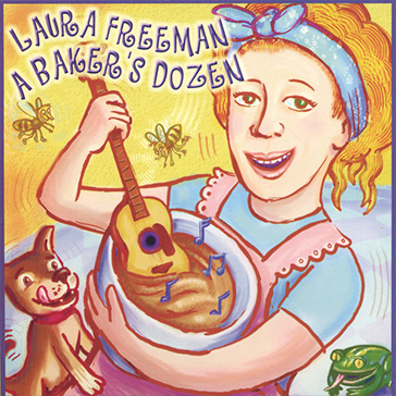 Laura_Freeman_A_Bakers_Dozen_album_cover